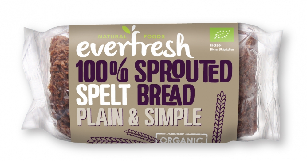 Plain & Simple - 100% Sprouted Spelt Bread
