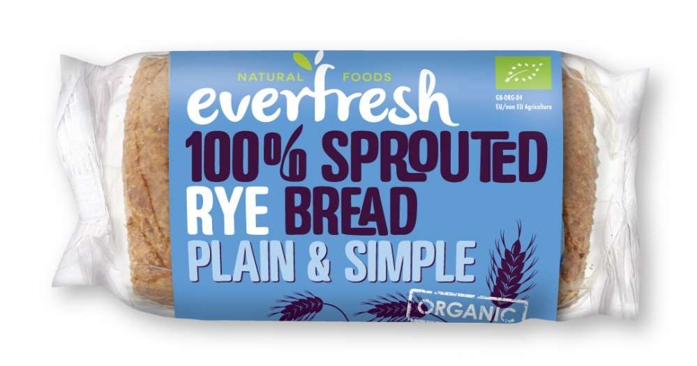Plain & Simple - 100% Sprouted Rye Bread