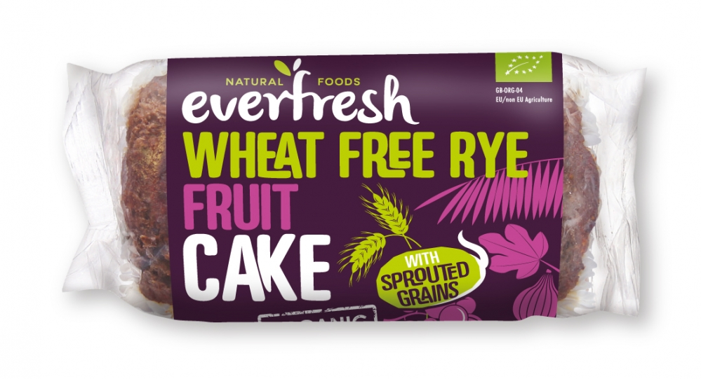 Wheat Free Rye Fruit Cake
