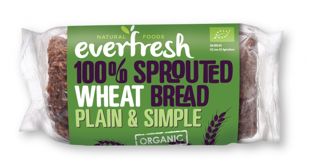 Plain & Simple - 100% Sprouted Wheat Bread